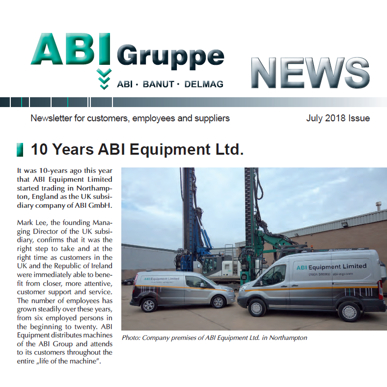 ABI Group News 2018