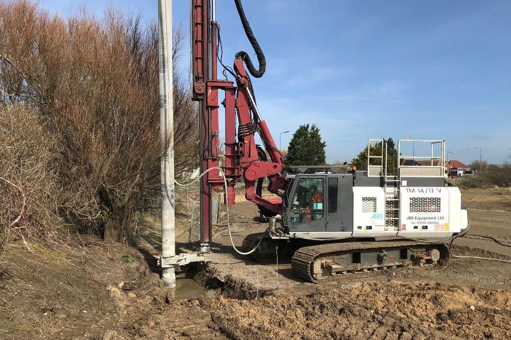 Wet Soil Mixing Innovation on the Kent Coast