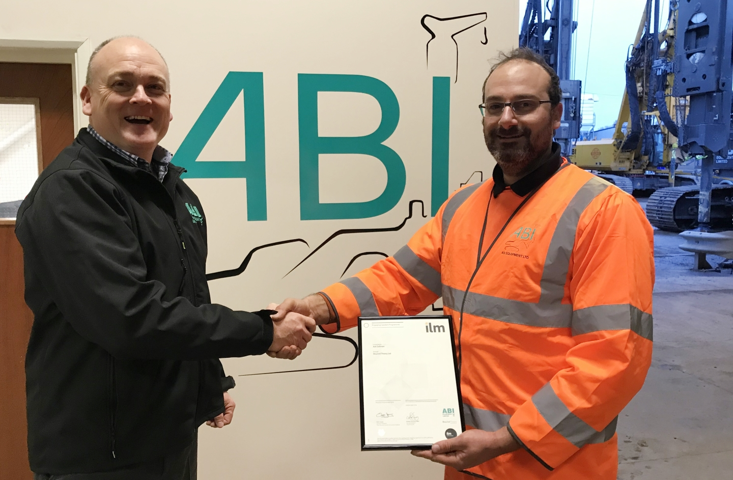 Congratulations to a valued member of the ABI team!