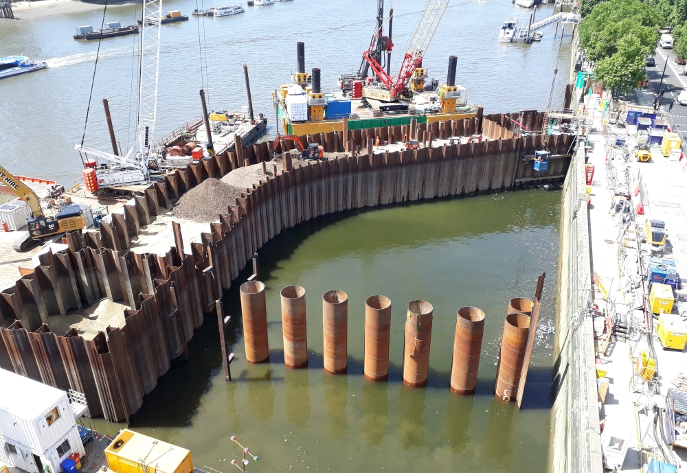 Latest News from Thames Tideway shows ABI involvement in context