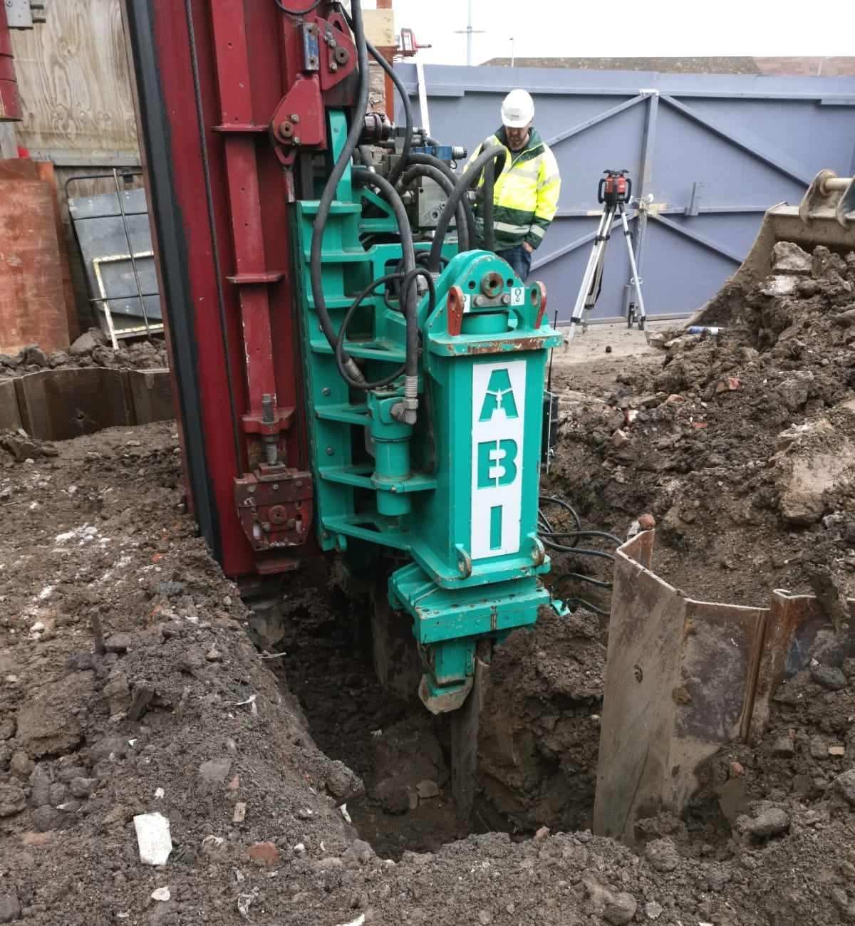 New CASE STUDY : Piling for Restricted Basement Excavation