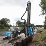 One Year On: UK's First Long Reach Piling Rig