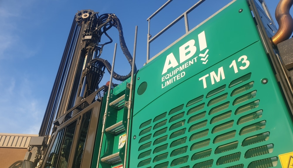 Another New 'Green Machine' for ABI Equipment Ltd Hire Fleet